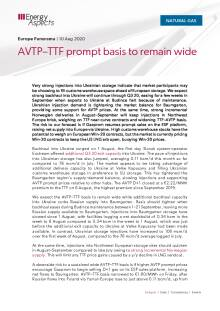 AVTP–TTF prompt basis to remain wide cover image