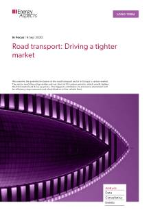 Road transport: Driving a tighter market cover image