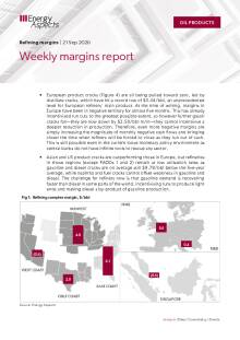 Weekly margins report cover