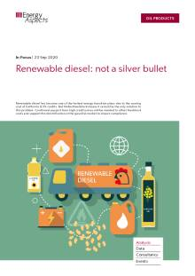 Renewable diesel: not a silver bullet cover image