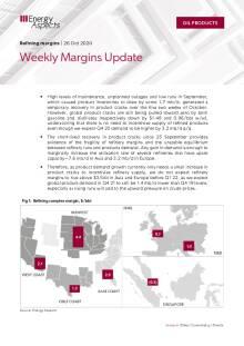 Weekly Margins Update