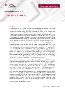 The sun is rising cover image