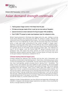 Asian demand strength continues cover